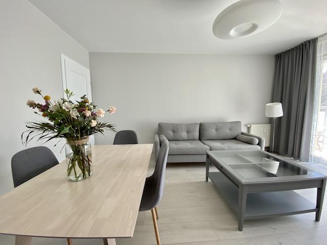 Wrocław Apartament Argento salon